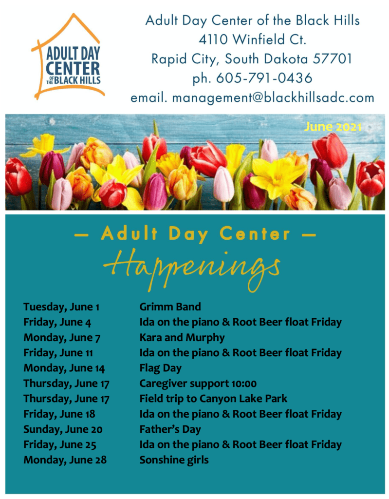 June Happenings at Adult Day Center
